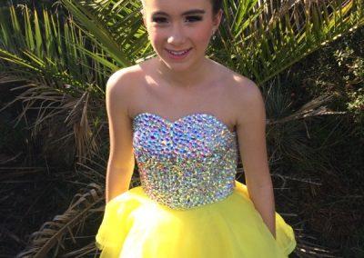 Mandy Yellow dress