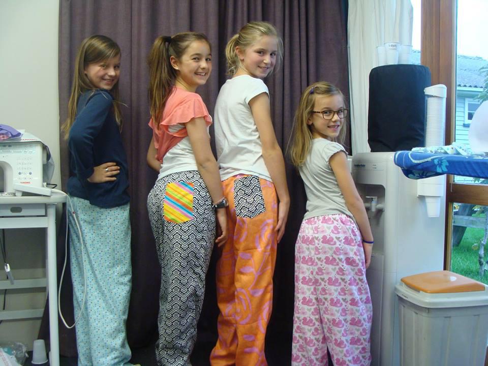 Children's sewing classes Christchurch